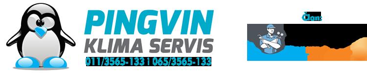 Klima servis PINGVIN Logo